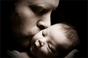 unconditional love for baby